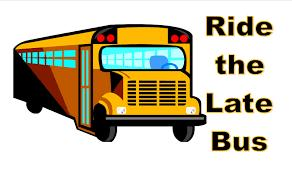 Late Buses Monday -Thursday